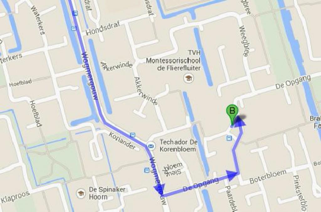 Route De Opgang